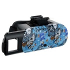 Personalized VR Virtual Reality 3D Video Headset Glasses - Black+ Blue