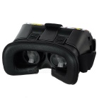Personalized VR Virtual Reality 3D Video Headset Glasses - Black + Red
