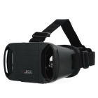 "VR 3D BOX Virtual Reality Glasses for 3.3~6"" Mobile Phones - Black"