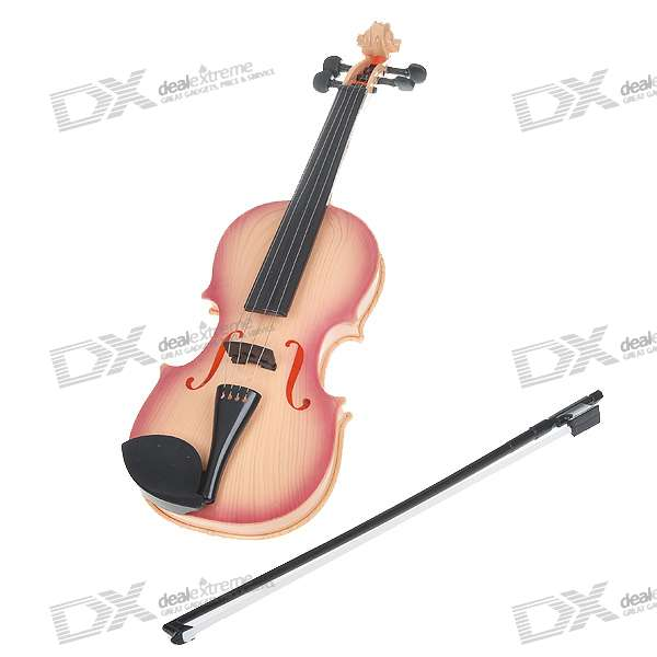 Toy Violins For 3 And Up : Electric plastic violin toy aa free shipping