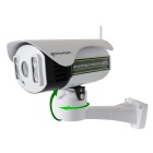 Wireless 2.0MP Full HD 6-22mm Opitcal Zoom, Pan / Tilt Rotation, P2P, IR Night Vision, Micro SD Slot
