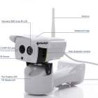 SunEyes SP-P1801SWPT Caméra IP Full HD 1080P en plein air - Blanc (fiche US)