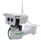 SunEyes SP-P1801SWPT Outdoor 1080P Full HD IP Camera - White (UK Plug)