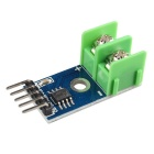 MAX6675 Type K Thermocouple Temperature Sensor Module - Blue + Silver