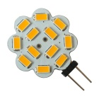 JIAWEN G4 5.5W Warm White Light LED Module - White + Yellow (10PCS)