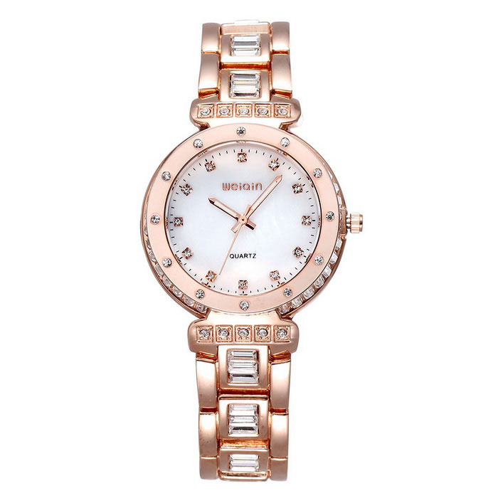 Weiqin 507804 Women's Watch w/ Luminous Pointer - Golden + White