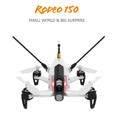 Walkera Rodeo 150 FPV 600TVL Camera RC Quadcopter - White