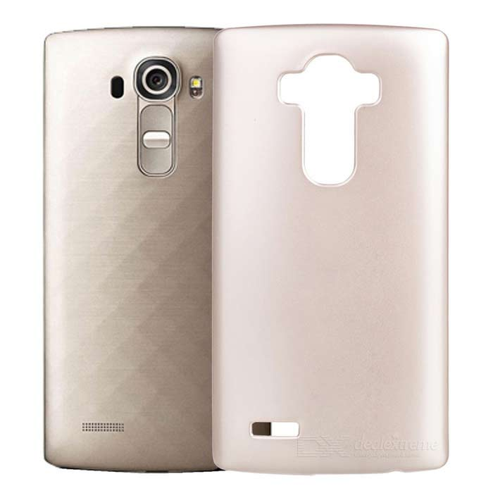 Protective PC Cace para LG G4 Mobile Phone - Champanhe Ouro