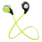 S-What Bluetooth Mega Bass Stereo In-Ear Earphones - Black + Green