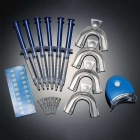 Teeth Whitening Whitener Bleaching Professional Kit - Blue+Translucent
