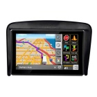 "ZIQIAO 5 ""Screen Universal Car GPS Navigation Escudo Sun - Black"