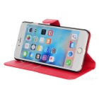 Lichee Pattern Protective Case for IPHONE 6 PLUS / 6S PLUS - Red