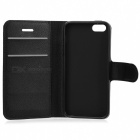 Lichee Pattern Protective Full Body Case for IPHONE SE - Black