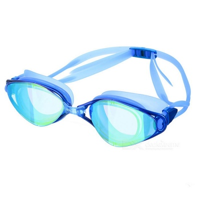 Anti Fog Waterproof Swim Goggles Swimming Glasses - Blue