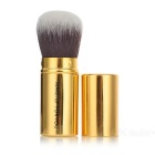 MAKE-UP FOR YOU Retractable Cosmetic Makeup Powder Brush - Golden