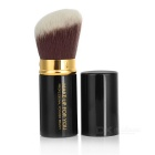 MAKE-UP FOR YOU Retractable Cosmetic Makeup Powder Brush - Black +Gold