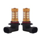 MZ 9005 HB3 54-4014 SMD LED luces antiniebla / DRL blanco frío (2 PCS)