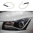 Jiawen 60cm 12V 7W Car Daytime Running Lights Cold White (2PCS)