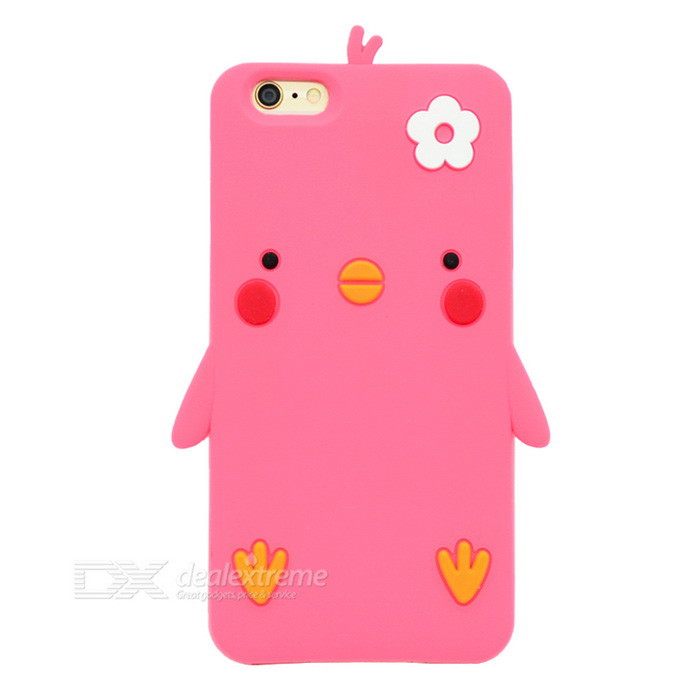 Cartoon Pattern Protective Case for IPHONE 6 / 6S - Deep Pink