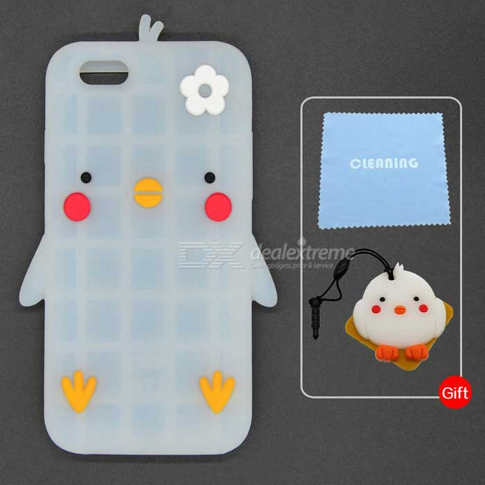 Cartoon Pattern Protective Case for IPHONE 6 / 6S - Translucent