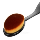 MAKE- UP FOR YOU 107 Foundation Power Makeup Oval Brush - Black