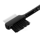 MAKE- UP FOR YOU Eyebrow & Eyelash Dual-Purpose Make-up Brush - Black