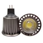 Youoklight MR16 5W LED COB blanco frío proyector LED (ac / dc 12V / 2PCS)
