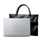 "Imitation Leather Briefcase for 13"" MACBOOK AIR / PRO - Black"