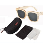 Reedoon 1506 Unisex Outdoor Sports UV400 Sunglasses - Champagne + Cinza