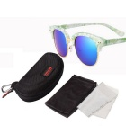 ReeDoon 7806 UV400 Protection Sunglasses for Women - Green + Blue