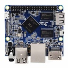 HDMI 1.4 1080P H3 + Quad-Core A7 Development Board - Blue + Silver