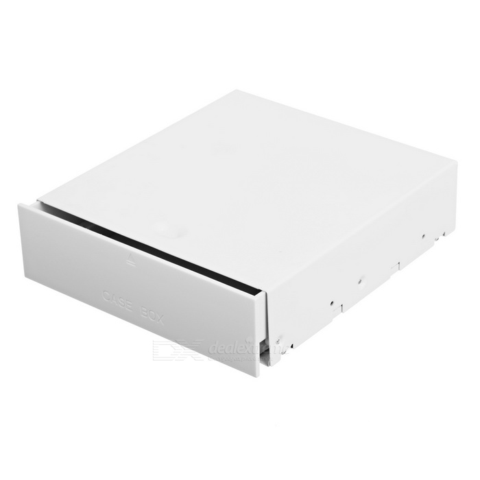 DIY PC Drive Bay Drawer Case for Small Gadgets Storage - White