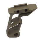 Movable Type Gun Vertical Grip F Aluminum Grip - Mud Color