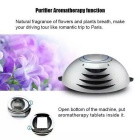 On-board Anion Air Purifier / Car Charger - Silver