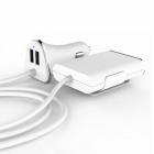 Ourspop OP-R28P 1-to-4 USB Mobile Phone Charger - White