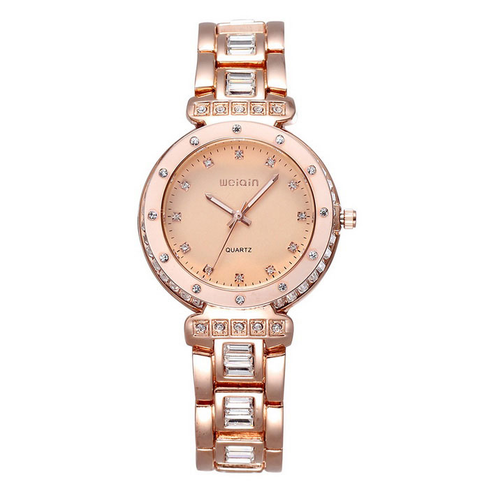 Weiqin 507802 Women's Watch w/ Luminous Pointer - Golden