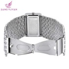 WeiQin 659001 Women's Analog Quartz Bracelet Watch - Silver + Blue