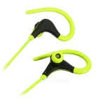 Kin-77 Portable Ear Hook Sports Bluetooth Earphones - Yellow + Black