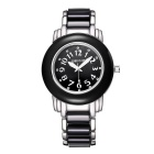WeiQin 368606 Women's Fashion Round Dial Watch - Black