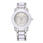 WeiQin 368603 Women's Fashion Round Dial Watch - White