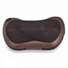 Multifunktions-Startseite Auto Dual-Use-PU-Massage-Kissen - Deep Brown