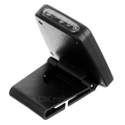 USB Powered 3-LED Infrared Clip-on Cap Light Neutral White - Black