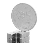 4 * 4 * 3mm Square NdFeB Magnet - Silver White (50PCS)
