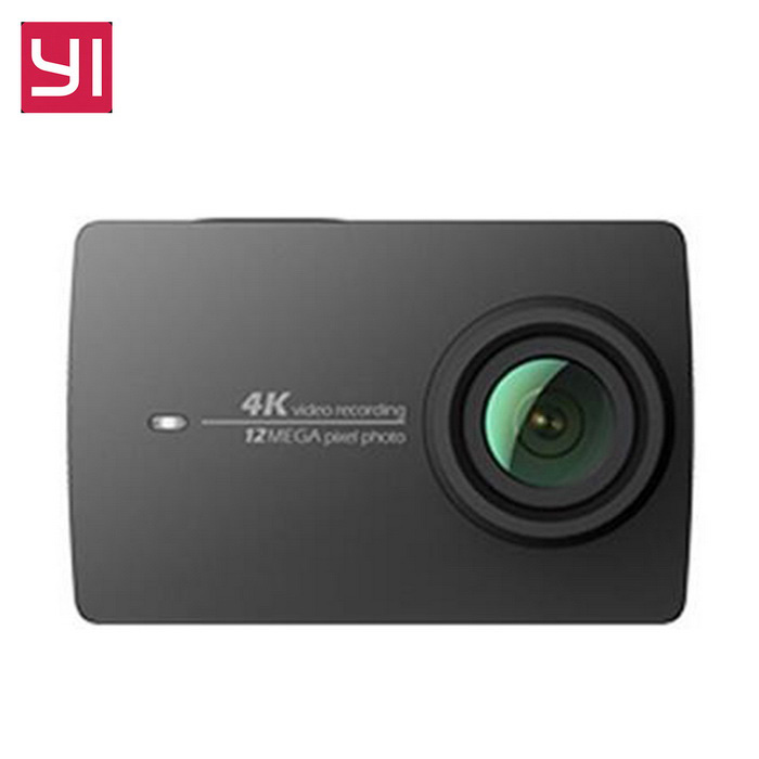 xiaomi yi ii imx 37 wi fi 4k action camera white. Black Bedroom Furniture Sets. Home Design Ideas