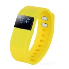 BT Smart Rubber Wristband with Pedometer Clock Display, Alarm, Call Reminder Functions