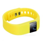 "0.49"" OLED Bluetooth V4.0 Smart Bracelet Fitness Tracker - Yellow"
