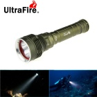 Ultrafire XM-L2 U2 5-L2 3-Mode Diving Flashlight Cold White Light