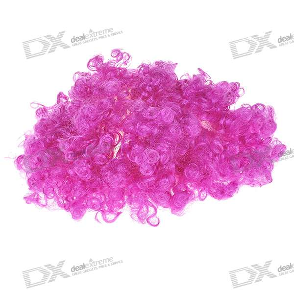 Costume Party Cosplay Purple Afro Wig
