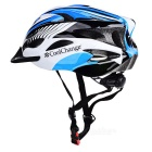 Cool Change Bike Cycling Unisex Safety Helmet - Black + Blue + white