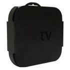 Wall Mounting Kit Case Bracket Holder Tray Stand for Apple TV3 - Black